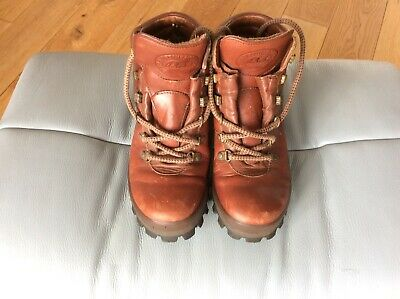 £25 • Buy Womens Brasher Lady GTX Brown Tan Leather Walking Boots Size 5 In Excellent Cond