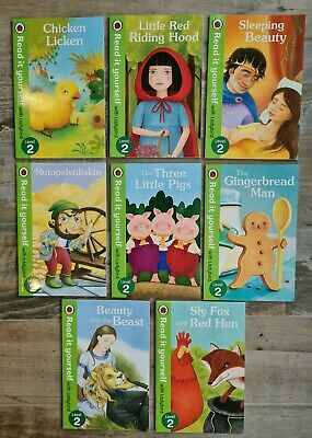 £4.95 • Buy Ladybird Read It Yourself Level 2 Early Readers 8 Book Bundle Classic Fairytales