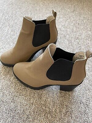 £8.20 • Buy Ladies Red Herring Pull On Ankle Boots Size Uk 6 Light Brown. New Other