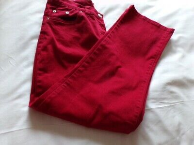 £1.50 • Buy Damart Trousers Red Size 14