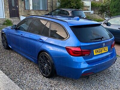 £11495 • Buy 2018 68 Bmw 318d M Sport Shadow Edition Automatic Damaged Repairable Salvage