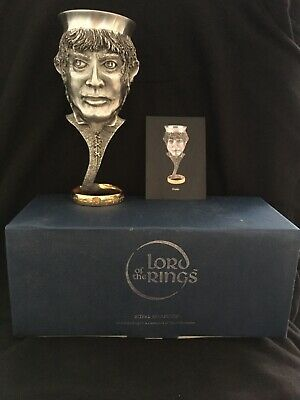 £99.99 • Buy LOTR Frodo Pewter Goblet By Royal Selangor Boxed