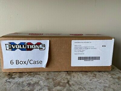 $5700 • Buy Pokemon XY Evolutions Booster Box Case--FACTORY SEALED