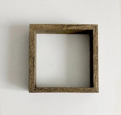 £7 • Buy Dark Wood Deep Picture Frame 6x6      Depth Picture Frame   Box Frame  