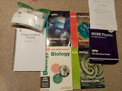 £10 • Buy AQA Triple Science Gcse Revision Pack
