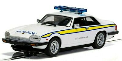 £46.99 • Buy New Release Scalextric 1:32nd Scale Jaguar XJS Police Edition Model.
