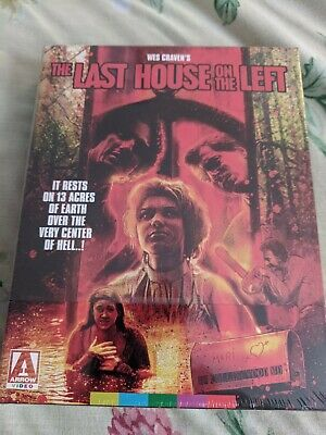 £43.65 • Buy THE LAST HOUSE ON THE LEFT  (1972) (3-Disc Blu-Ray+CD) ARROW~NEW! OOP Wes Craven