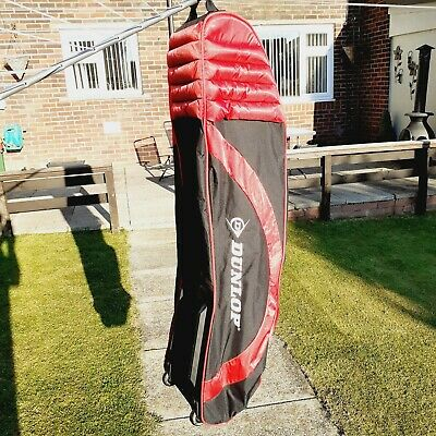 £18.99 • Buy DUNLOP Golf Club Bag Travel Cover Wheeled Luggage Flight Carry Case XL VG COND