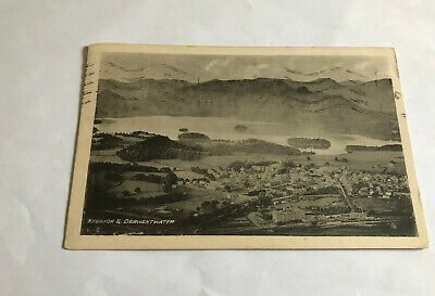 £0.99 • Buy Postcard - Keswick And Derwentwater - Posted 1933