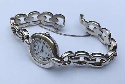 £33 • Buy Accurist Solid Silver Watch 925 Fully Hallmarked Heavy Weight 41.39g