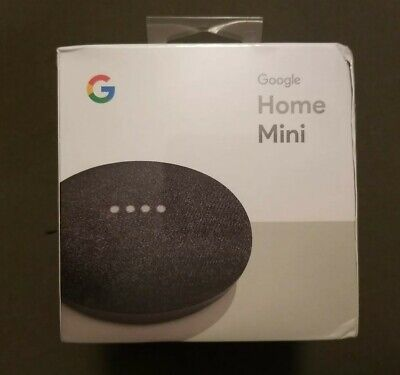 AU14.23 • Buy Google Home Mini Smart Home Assistant Small Speaker - Charcoal New