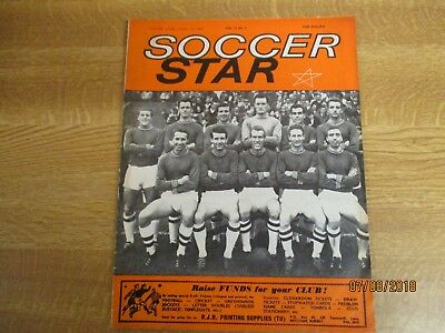 £3.50 • Buy October 12th 1963, SOCCER STAR, Plymouth Argyle, Southport FC, Barry Stobart.