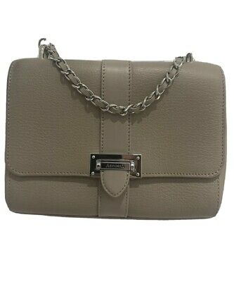£230 • Buy ASPINAL OF LONDON - Lottie Bag Top Handle Soft Taupe Pebble