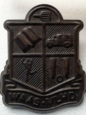£7 • Buy South African Womens Auxiliary Army Service Badge. WAAS-VLHD
