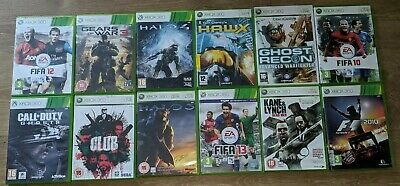 £13.99 • Buy 12 Great Games Lot For Xbox 360 Fifa /halo/ Club/f1 2010/ Ghost Recon/ Hawx
