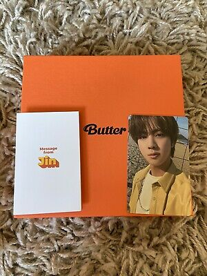 £19 • Buy Kpop: Bts - Butter Album With Jin Inclusions & Photocard