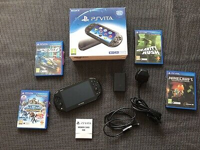 £75 • Buy PS Vita Console With Games - Wi-Fi / PCH-2016