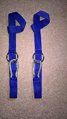 £5.50 • Buy  Westernway  Hay Net Hanger. Horse Box / Lorry, Stable Or Tack Room Tidy. Blue.