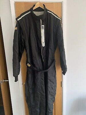 £23.50 • Buy OMP Racing Suit, Size 56 + Bag And Sparco Gloves All In Good Condition
