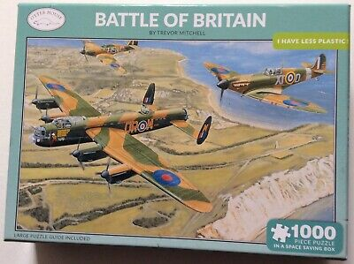 £3 • Buy OTTER HOUSE 1000 Piece Space Saving Jigsaw 💋 BATTLE OF BRITAIN (complete)
