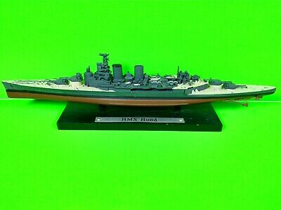 £5.99 • Buy HMS Hood Model By Atlas Editions - Warships Collection - 8 Inches Long