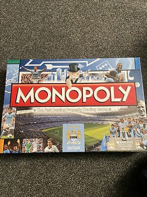 £6.99 • Buy Monopoly Board Game Manchester Man City MCFC Football. 100% Complete, Very Rare