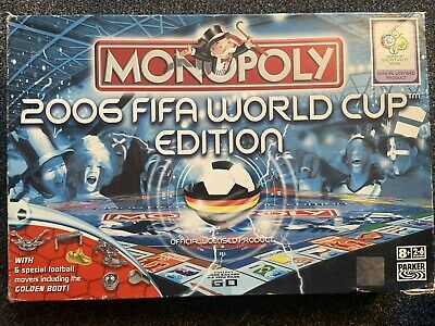 £5.99 • Buy 2006 FIFA Football World Cup Monopoly Board Game -COMPLETE Parker Bros Very Rare