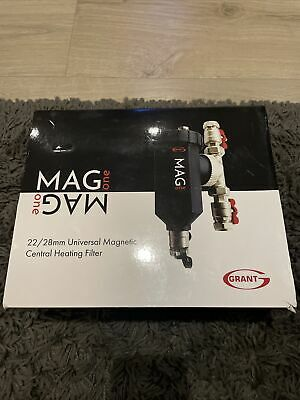 £65 • Buy Grant Mag 1 Central Heating Filter 22/28 Mm