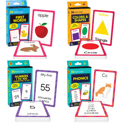 £3.69 • Buy Children's Flash Cards Kids Educational Pre School Learning Card Brighter Child