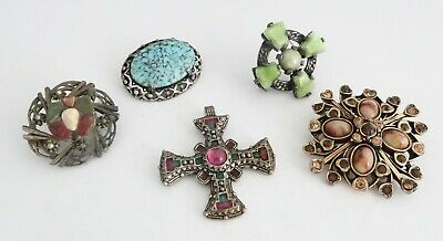 £0.99 • Buy Vintage MIRACLE Brooches And Pendant