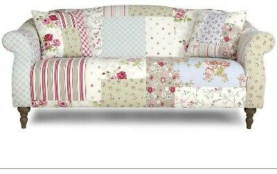 £75 • Buy DFS 3 Seater Doll Patchwork Sofa