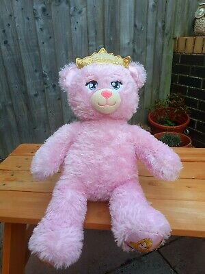 £6 • Buy Build A Bear Disney Princess. Sparkly With Light Up Crown, Heart Beat. Retired.