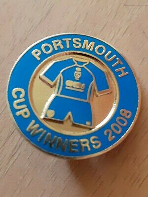 £3.13 • Buy Portsmouth Fc Cup Winners 2008 Badge