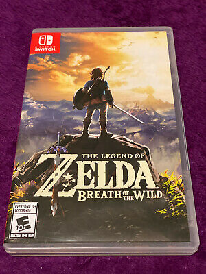 AU39.69 • Buy The Legend Of Zelda: Breath Of The Wild  (Nintendo Switch) EXCELLENT. TESTED