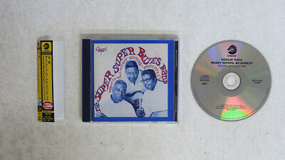 £2.92 • Buy Howlin' Wolf,muddy Waters,bo Diddley Super Super Blues Band Chess Japan Obi 1cd