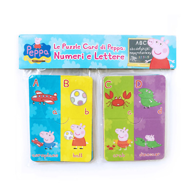 £3.99 • Buy Peppa Pig Learning Flash Cards Letters Alphabet Education Kids