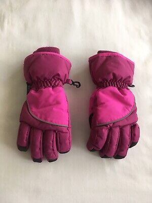 £1.20 • Buy Girls H&M Pink Thinsulate Ski Gloves Age 6-8 Years, WORN ONCE