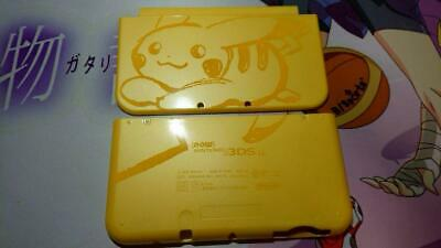 $109 • Buy Shell Only Nintendo 3DS LL Pikachu Yellow Console Pokémon Pokemon Center Limited