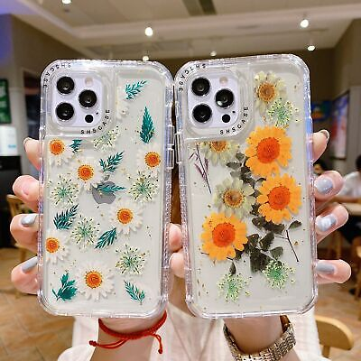 AU10.99 • Buy For IPhone 13 12 11 Pro Max XR X 8 7 6 Plus Flower Pattern Case Shockproof Cover