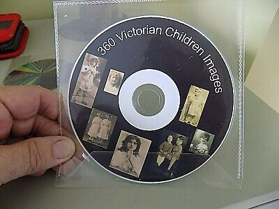 £6.99 • Buy 360 Victorian Children Images On CD Photos Pictures In Lovely Victorian Outfits