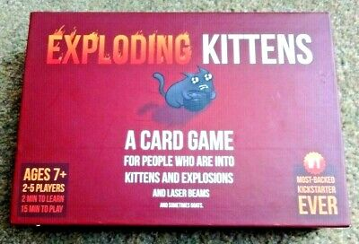 AU7.90 • Buy Exploding Kittens - Card Game - Excellent Condition