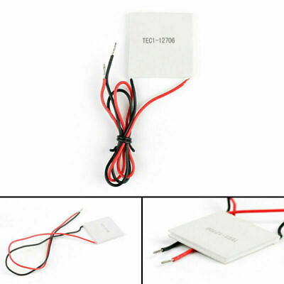 £5.99 • Buy 1Pcs TEC1-12706 40x40mm Thermoelectric Cooler Peltier Plate Module 12V 60W GB
