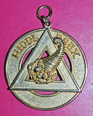 £15 • Buy Middlesex Chapter Past Provincial Grand Steward Masonic Collar Jewel