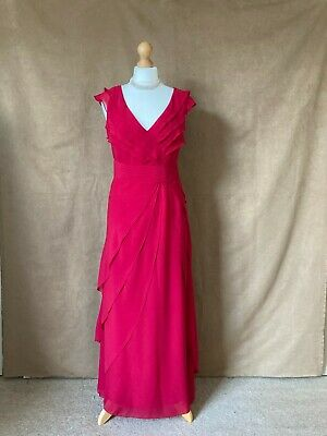 AU27.35 • Buy Per Una.Womens / Ladies Lined Long Party Or Special Occasion Dress. Size 14