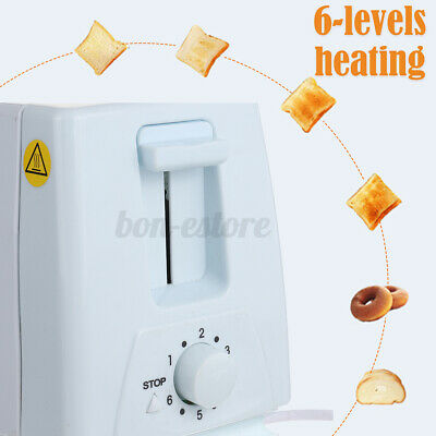 AU28.29 • Buy Toaster 4 Slice Kitchen Appliance Stainless Steel Home Bread Cooker Toasting AU