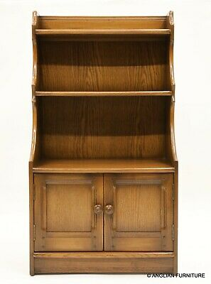 £267 • Buy Ercol Waterfall Bookcase Shelves Cupboard Golden Dawn Finish FREE UK Delivery*