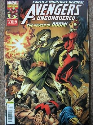 £7 • Buy The Avengers Unconquered 14 Ft. Ares, Iron Man, Ms Marvel, Wolverine & Dr Doom