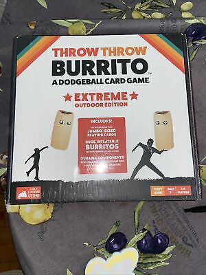 AU30.11 • Buy BRAND NEW Throw Throw Burrito Extreme Outdoor Ed. Dodgeball By Exploding Kittens
