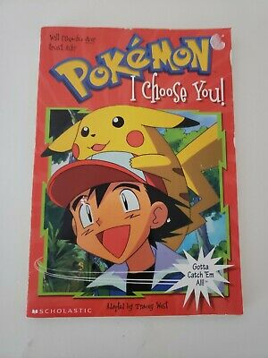 $2.49 • Buy I Choose You! (Pokemon Chapter Books) By Scholastic Books
