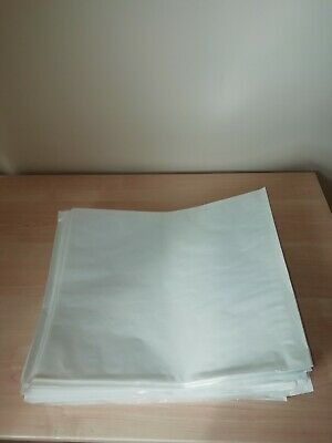 £4.99 • Buy 160 Medium Film Front Window Bags.White Backing.34x28cms.Cakes, Pastries,photos.